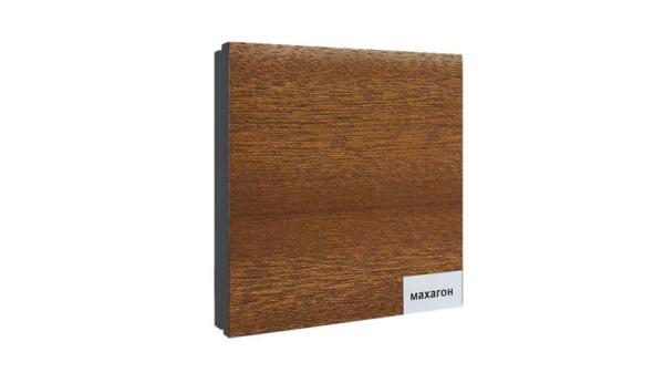 3Д панели шпонированные махагон