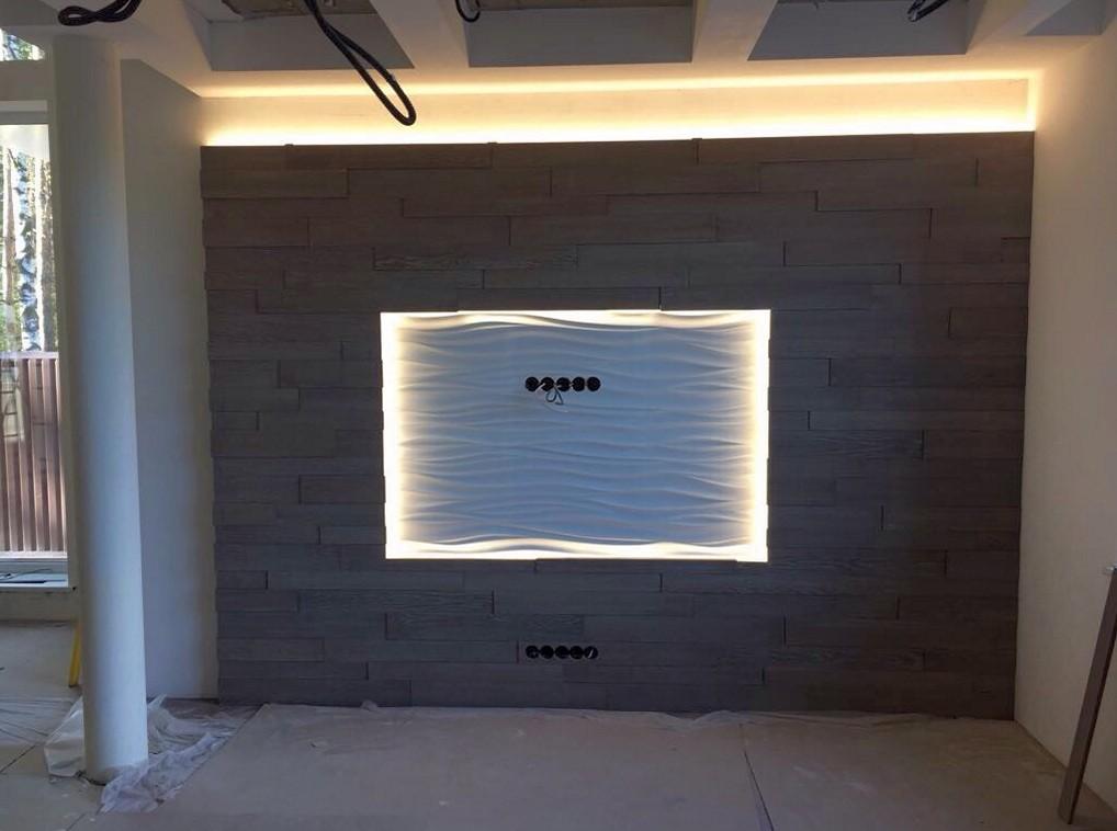 3D стеновые панели для отделки стен