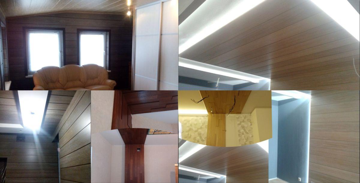 панели на стену и потолок