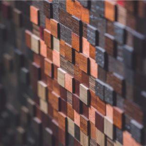 мозаика шпонированная