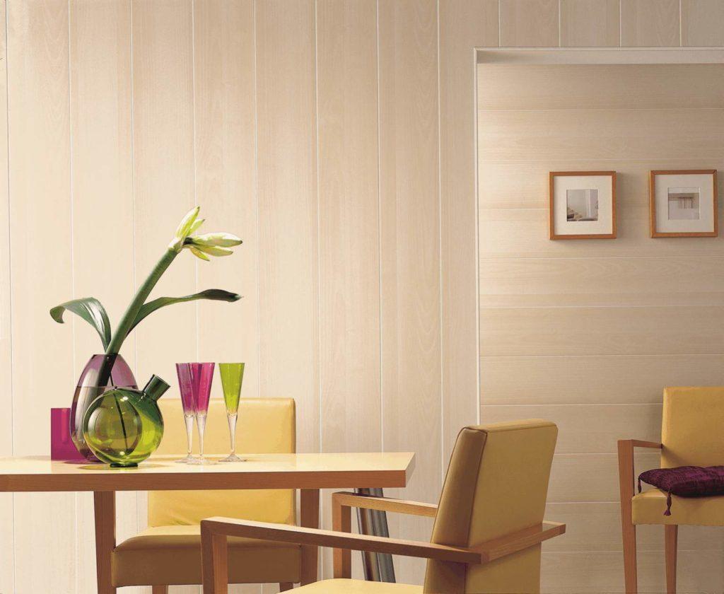 кухни отделанные пластиком фото цветущей вишни пчелами